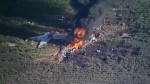 Military plane crashes in Mississippi killing at least 5