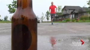 "Canadian participating in first ""World Beer Mile"" championship"