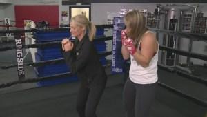 Two time World Champion Olivia Gerula prepares for title defense.