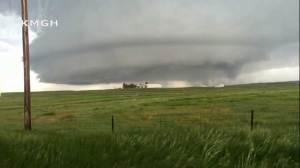 Cleanup begins in Colorado after tornado