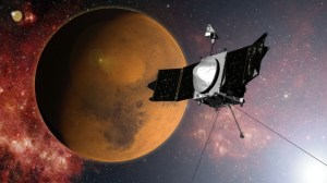 NASA's MAVEN spacecraft orbits Mars