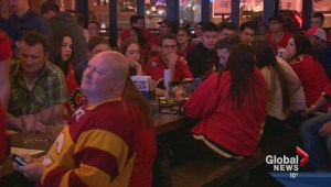 Flames fans react to loss against Anaheim