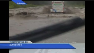 Dawson Creek dealing with flooding, washed out roads