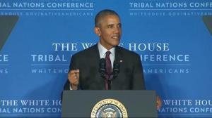 President Obama says U.S. has more work to do to improve aboriginal relations