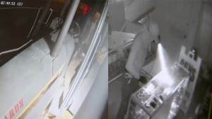 Thief uses backhoe to enter gun store, steals old rifle that doesn't work