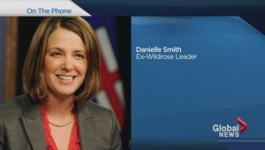 Danielle Smith explains why she crossed the floor