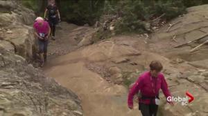 Marathon hikers take on Grouse Grind challenge for B.C. charity