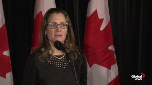 EU trade committee's approval of CETA 'important moment': Freeland