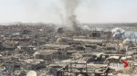 Video captures explosions as battle in devastated Mosul continues