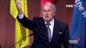 FIFA president Sepp Blatter remains at the helm
