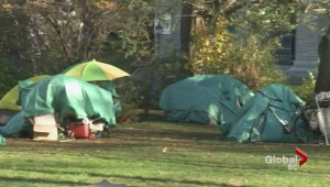 Former Victoria tent city becoming playground
