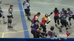 Local roller derby advocates for Forum renovations