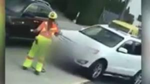 Burnaby flagger remains in hospital after being mowed down by SUV