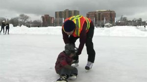 Newcomers try skating at Halifax Oval