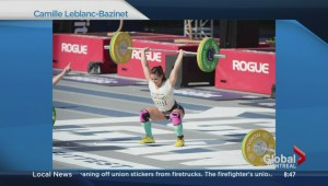 Camille Leblanc-Bazinet, the world's fittest woman