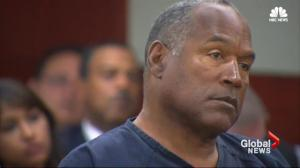 OJ Simpson in court for parole hearing