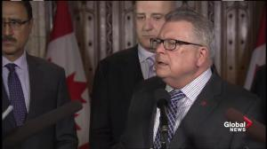 Ralph Goodale not ready to hand control of firefighting efforts in Fort Mac  over to Army just yet