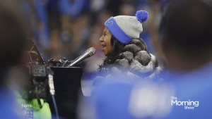 Was Aretha Franklin's rendition of the national anthem too long?