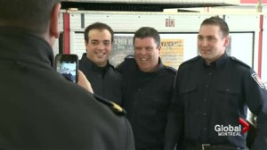 Westmount firefighters honoured