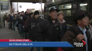 SkyTrain riders experience another snafu