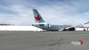 People react to Air Canada 2015 plane crash investigation report
