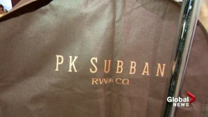 P.K. Subban fashion show