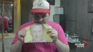 Why this Toronto man is eating a photo of Jason Segel every day?