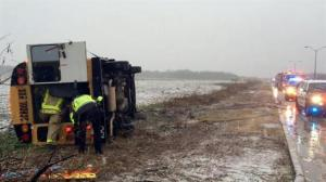 U.S. Southeast gets hammered by winter storm