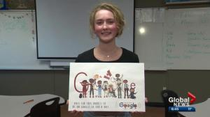 Alberta student a finalist in Google Doodle contest