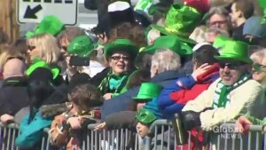 Small-town Hudson hosts big parade for St. Patrick's Day