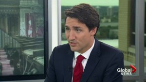 Environmental targets not worth much without a plan: Trudeau