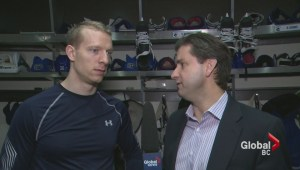 One-on-one with Jannick Hansen