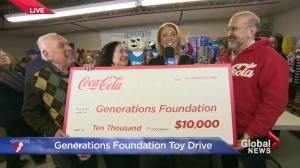 A surprise for Generations Foundation