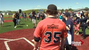Moncton baseball field for people with cognitive, physical disabilities opens to public