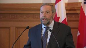 Mulcair pledges to be 'reliable, long-term partner' for Canada's municipalities