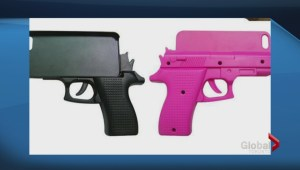 Police urging iPhone users to avoid case that looks like a gun