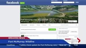 Facebook mobilizes to help evacuees