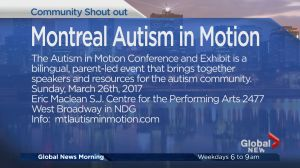 Community Events: Montreal Autism in Motion