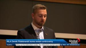 Derek Fildebrandt responds to home rental controversy