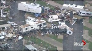 Clean-up after tornadoes hit U.S.