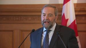 Mulcair 'very relieved' that Mohamed Fahmy pardoned in Egypt