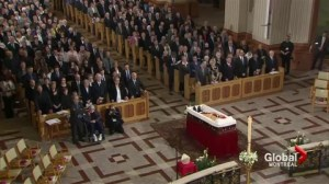 Montreal funeral for Cardinal Jean-Claude Turcotte