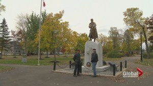 Veterans pay respects at Moncton cenotaph