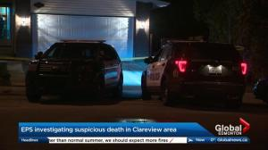 Edmonton police investigate northeast suspicious death