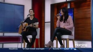 Alessia Cohle performs 'Talk to Me' on The Morning Show
