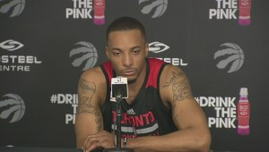 Norman Powell describes 'good feeling' around Raptors facility following playoff win over Pacers