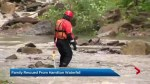 Hamilton emergency officials respond to 2 waterfall rescues