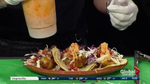 La Mar Land and Seafood truck makes fish tacos in the Global Edmonton kitchen (Part 3 of 3)