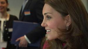 Duchess Kate makes last appearance before giving birth
