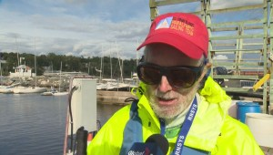 Disabled sailing competition